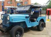 Excelente motor disel, willys 1954 impecable.