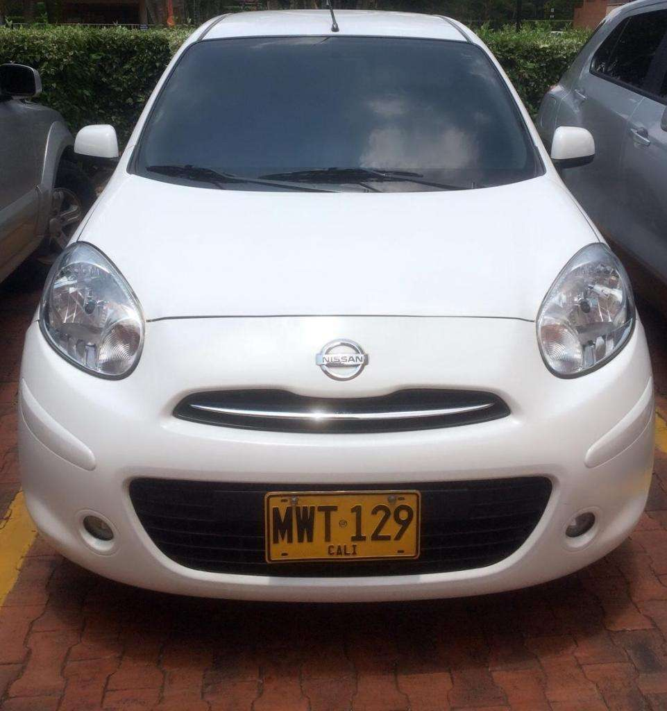 Nissan March Advance. Modelo 2013 Full Equipo.