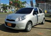 Hermoso nissan march 1.6 2015