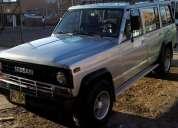 Excelente camioneta nissan patrol 1987 larga