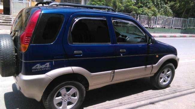 Camioneta daihatsu terios, modelo 98, motor 1300