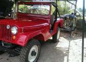Se vende excelente jeep willys, modelo 1959