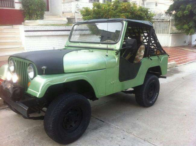 Excelente Jeep Willys 3 Cambios Mod 64