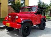 Venta de jeep willys 55 rojo carpado, contactarse.