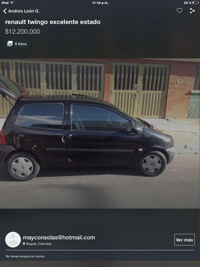Vendo Excelente Renault twingo 2006 full equipo.