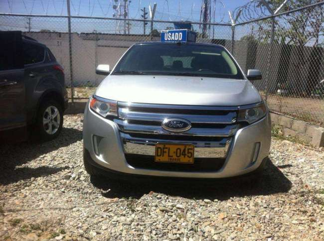 Excelente Ford Edge Limited Automática 3.500 C.C. Modelo 2012