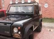 Land rover personalizado, modelo 86