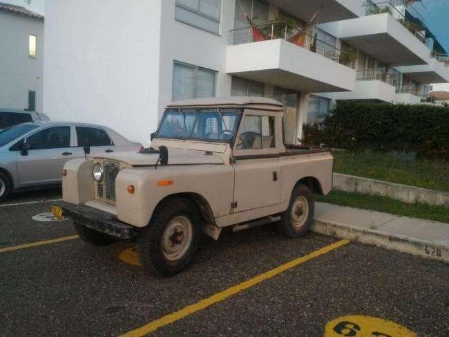 Excelente Land Rover Siii Modelo 1968 Santana