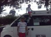 Linda camioneta chery vans 6 pasajeros
