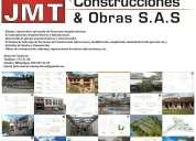 Jmt construcciones & obras sas