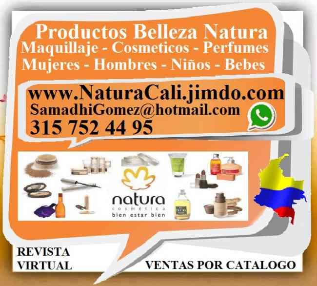 NATURA, Cosmeticos, Maquillaje, Perfumes, , Consultora Productos Belleza, Para Mujer, Hombre, Niños