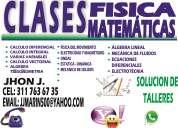 Clases particulares matematicas-fisica....