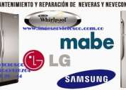Servicio tÉcnico de lavadoras neveras tv secadoras nevecones