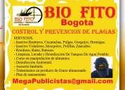 Bio fito, fumigaciones, control de plagas, limpieza tanques, desinfeccion, asesoria, saneamiento