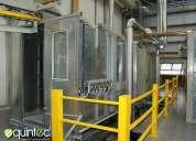 Fabricación hornos industriales, hornos secado de madera, hornos especializados.