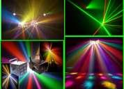 Cámara de humo, luces, dj, animador sonido profesional en bogota