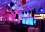 Poseidon eventos y producciones / alquiler de equipos para eventos y bodas en bucaramanga