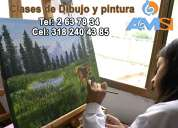 . clases de pintura al óleo - para adultos y estudiantes-