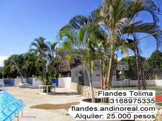 casa en alquiler para grupos o empresas Flandes  cerca de Girardot