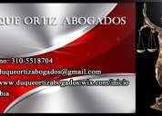 Derecho de familia, penal, civil, laboral, administrativo d&o abogados