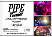 Grupo vallenato bucaramanga, parranda vallenata, agrupacion vallenata pipe eventos