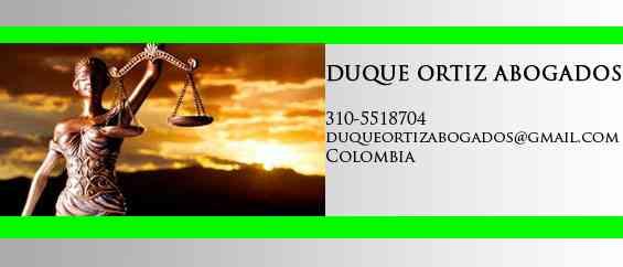 Firma de abogados en Neiva DUQUE ORTIZ ABOGADOS
