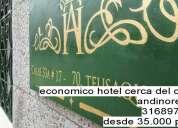 Económico hotel cerca del centro de bogotá, a 15 minutos de la embajada américa