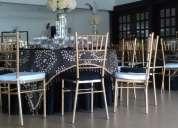 Alquiler sillas tiffany cali colombia