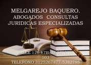 Abogados litigantes en todas las Áreas del derecho