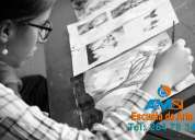 Academia de dibujo, pintura, origami,plastilina