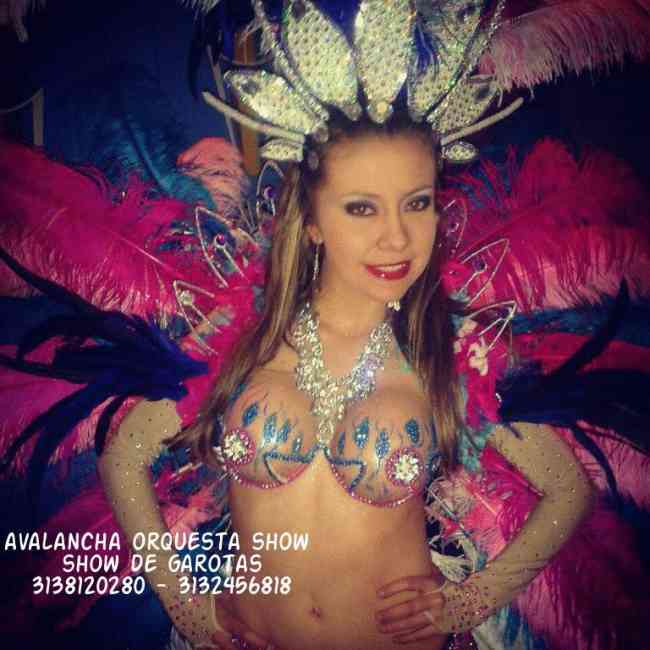 garotas en bogota shows de samba