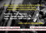 Cantante serenatas-misas-eventos en general
