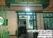 Hotel central en bogotá, económico y confortable de ambiente familiar