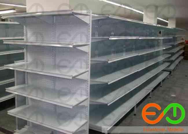 venta de gondolas y estanterias  metalicas  para supermercados en Medellin