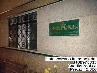 Hotel cerca a la embajada en bogota