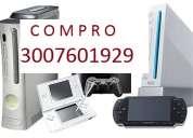 Compro consolas y videojuegos