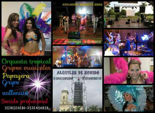 grupo musical tropical musica bailable para fiestas