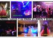 servicio de sonido, luces, dj, animador y hora loca para eventos en ibaguÉ. cel. 317 343 6994