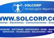 Tecnologia sistemas computadores impresoras ventas y servicios solcorp