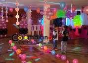 Chiquirruba decoracion globos cajica