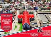 Servicio de fotografía y vídeo aéreo con drone boyacá