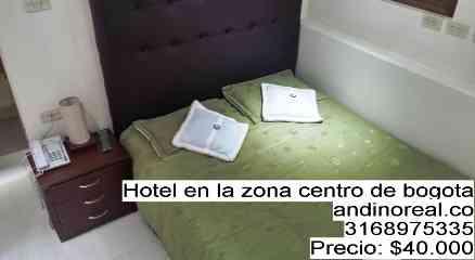 Hotel en la zona centro de bogota