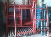 Distribución de andamio tubular