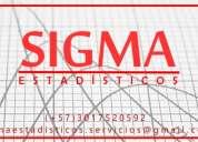 Clases. probabilidad. estadÍstica. sigma estadÍsticos.