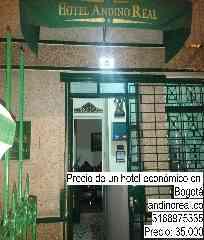 Precio de un hotel económico en Bogotá