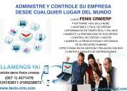 Busca software pyme fenix crm/erp software 100% web
