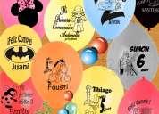 Aaa. venta de globos inflados helio, impresión globos publicitarios