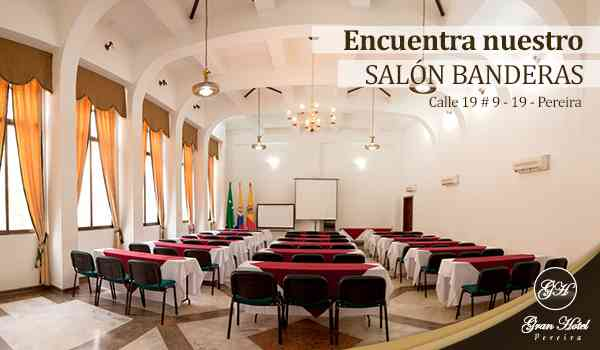 SALONES PARA EVENTOS Y CONFERENCIAS
