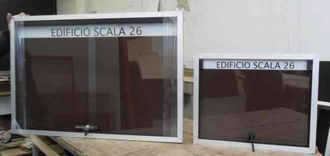 carteleras con vidrios teléfono 2767321 en Bogota