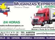 servicios expresos y compartidos.a nivel nacional mudanzas